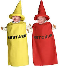 ketchup and mustard costumes