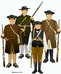 american revolutionary war uniforms