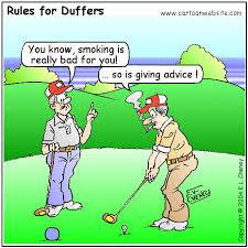 cartoons golf