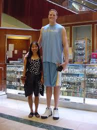 feet tall