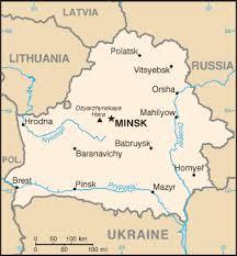 belorussia map