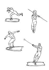 dibujos de atletismo