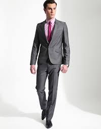 silver grey suits
