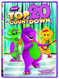 barney top 20 countdown dvd