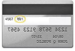 numero de carte visa