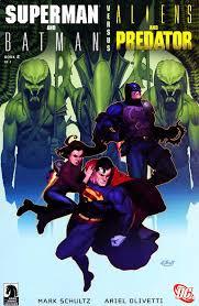 batman and superman vs alien and predator