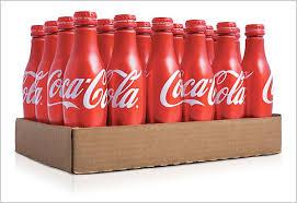 coca cola aluminium bottle