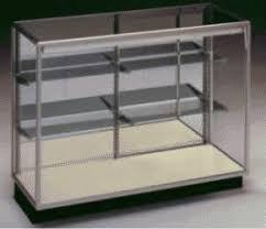 glass case display
