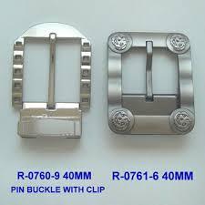 pin buckle