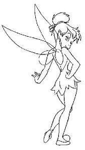 coloring book tinkerbell