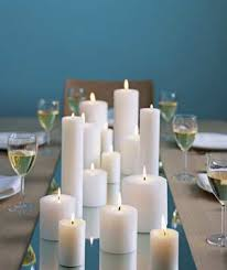 candles table