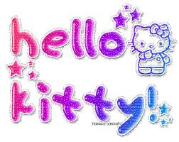 hello kitty glitter