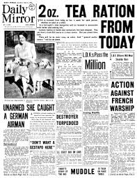 1940 newspapers