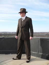 1940s men clothing
