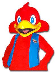 red robin mascot