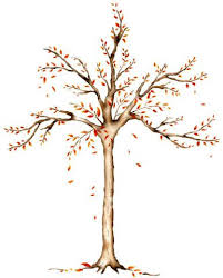 large tree stencil