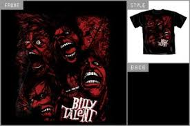 billy talent shirts