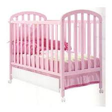 pink baby cots