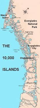 10000 islands map