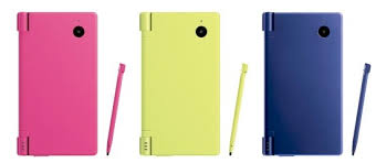 nintendo dsi yellow