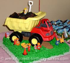 construction truck birthday