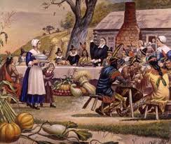 first thanksgiving indians