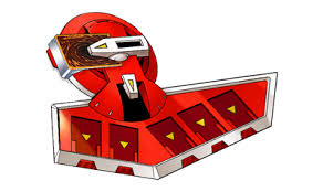 red duel disk