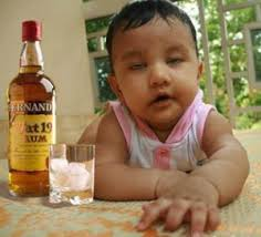 kids drinking alcohol