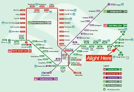 mrt map in singapore