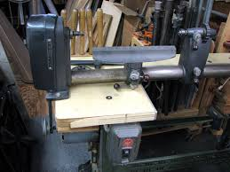 old wood lathe