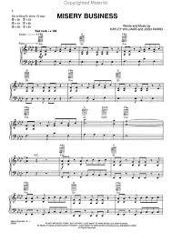 paramore piano