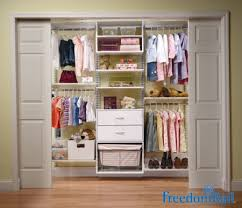 reach in closet designs