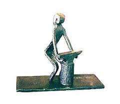 iron figurine