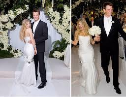 celebrity wedding dress photos