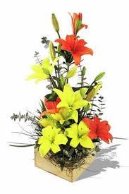 lilies flower arrangement