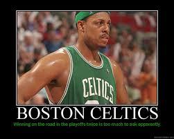 boston celtics poster