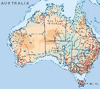 australian kartta