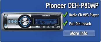 pioneer cd mp3 player