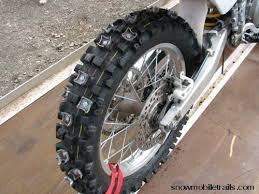 dirt bike tire studs