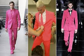 hot pink suits