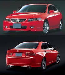 acura tsx body kits