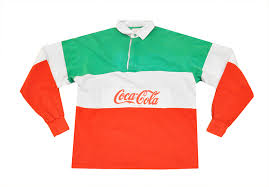 coca cola rugby shirts