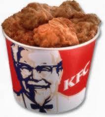 kentucky fried chicken bucket