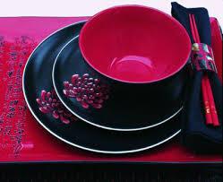 red crockery