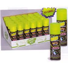 glow in the dark silly string