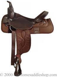 brown saddles
