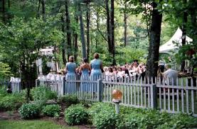 garden wedding sites