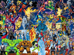 pictures of marvel heroes