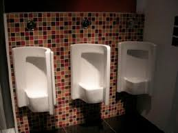 corner urinals