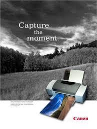 printer advertisement